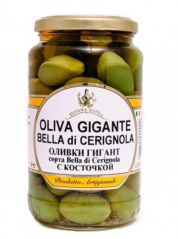 Оливки Гигант с косточкой
