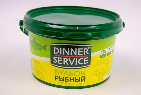 Бульон рыбный 1,5 кг, DINNER SERVICE