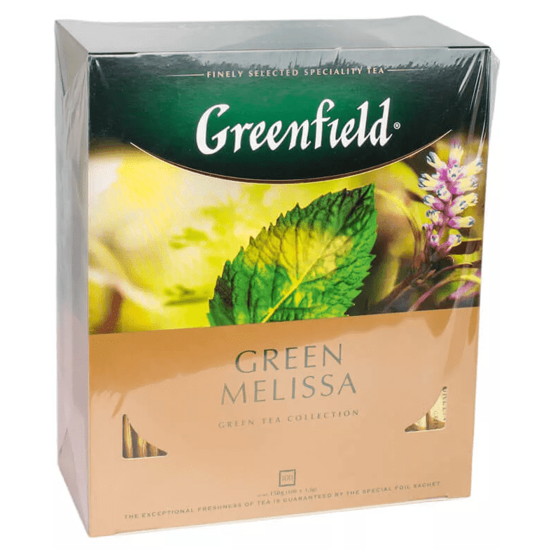 Greenfield чай мороженое