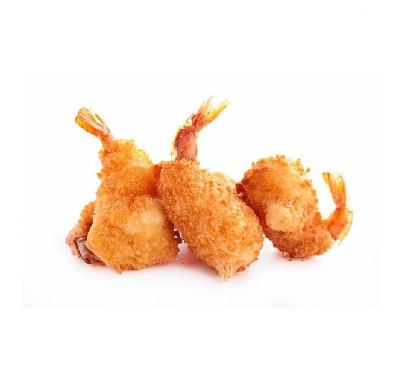 Креветки 21/25 в фунте с хвостом в панировке 1 кг с/м, Guangdong Gourmet