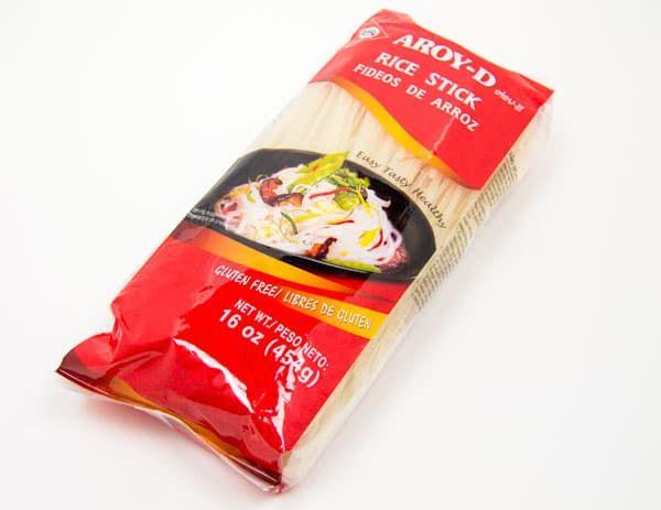 Лапша рисовая AROY-D 3 мм 454 гр