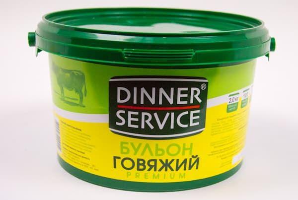 Бульон говяжий 2 кг, DINNER SERVICE
