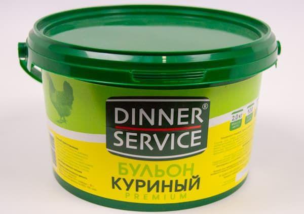 Бульон куриный «Premium» 2 кг, DINNER SERVICE
