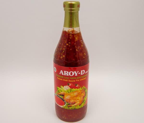 Соус сладкий чили для курицы 920 гр, AROY-D