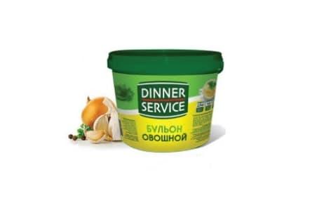 Бульон овощной 2 кг, DINNER SERVICE