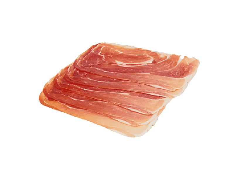 Окорок сырокопченый свиной шпек «Montagna» нарезка 70 г, Dobrosco