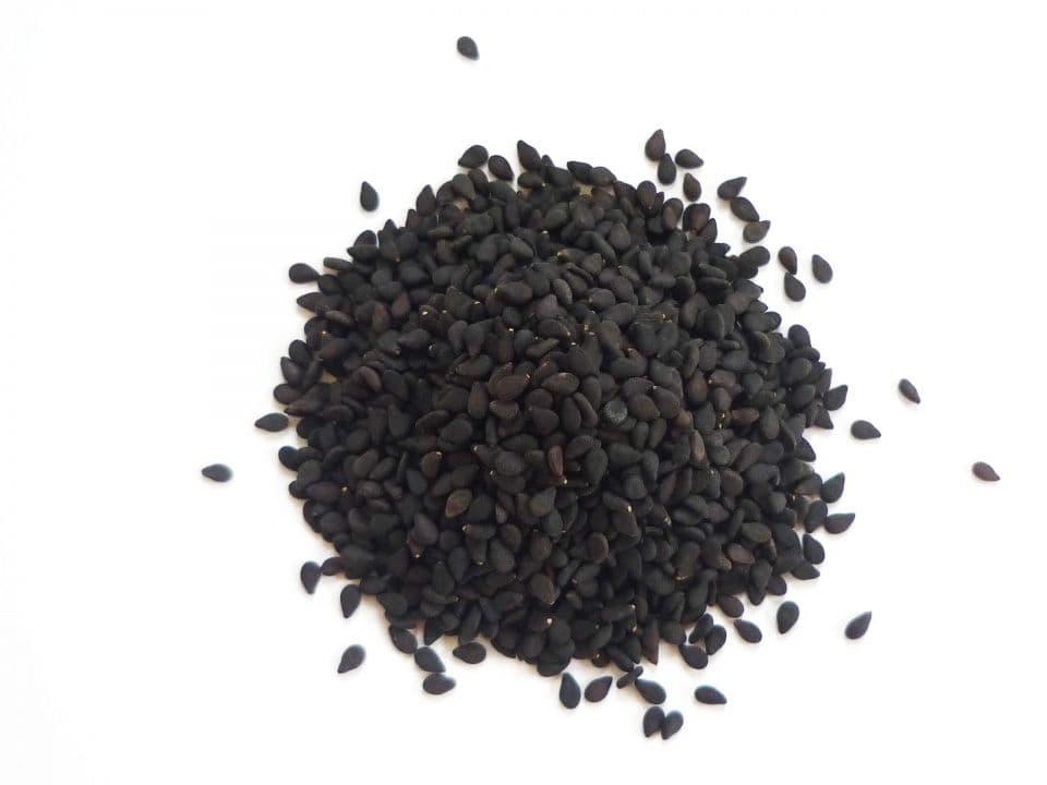 Кунжут семена черные обжаренные 1 кг, YAKIMAL