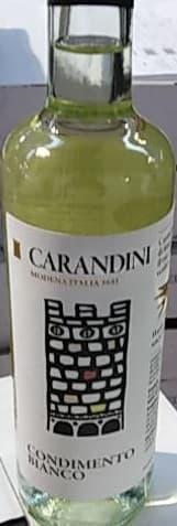 Уксус бальзамический белый 0,5 л, Carandini