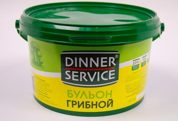 Бульон грибной 2 кг, DINNER SERVICE